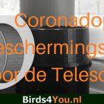 Corona cap the spotting scope solution against Covid-19