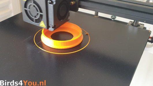 Het 3d printen van de Coronadop