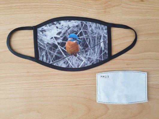 Herbruikbaar mondkapje met filter